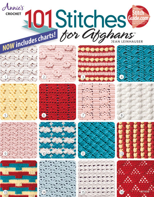 101 Stitches for Afghans  by  Jean Leinhauser