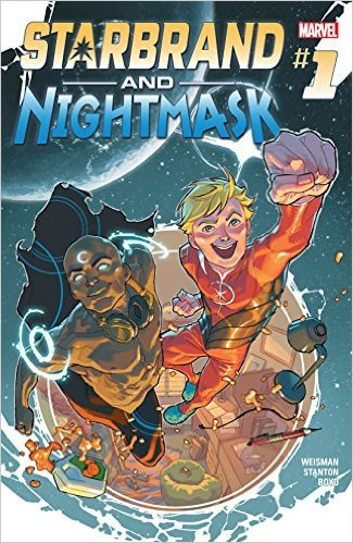 Starbrand and Nightmask (2015-) #1  by  Greg Weisman