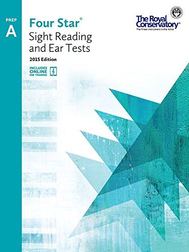 4S0A - Royal Conservatory Four Star Sight Reading and Ear Tests Level Prep A Book 2015 Edition  by  Boris Berlin and Andrew Markow
