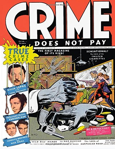 Crime Does Not Pay #22 Comics House