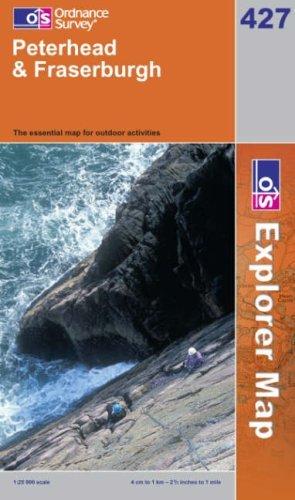 Peterhead and Fraserburgh (OS Explorer Map Series)  by  Ordnance Survey