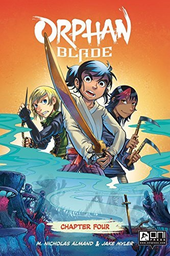 Orphan Blade #4  by  M. Almand