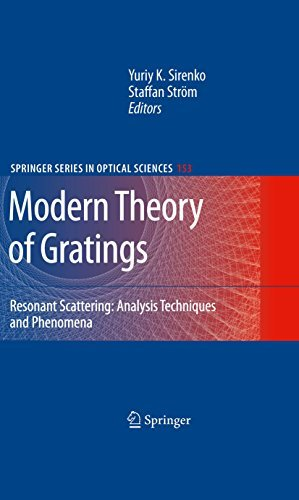 Modern Theory of Gratings: Resonant Scattering: Analysis Techniques and Phenomena: 153 (Springer Series in Optical Sciences) Yuriy K. Sirenko
