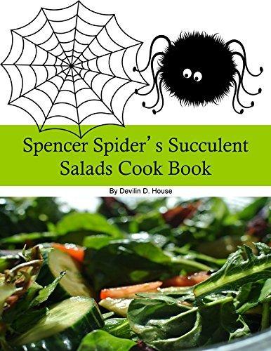 Spencer Spiders Succulent Salads Cook Book M.D. Johnson