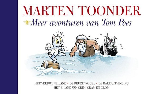 Meer avonturen van Tom Poes (Alle verhalen van Olivier B. Bommel en Tom Poes, #2)  by  Marten Toonder