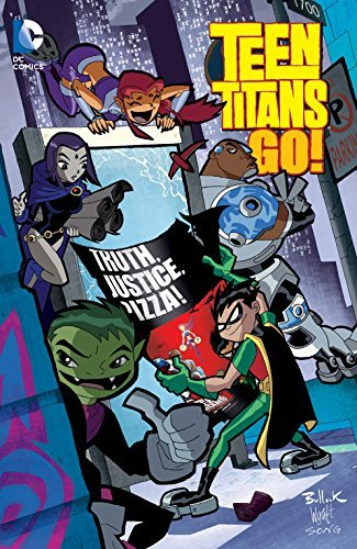 Teen Titans Go!: Truth, Justice, Pizza J. Torres