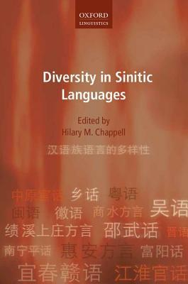 Diversity in Sinitic Languages Hilary M Chappell