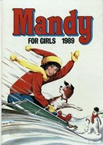 Mandy for girls 1989  by  D.C.Thomson