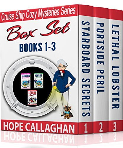Cruise Ship Christian Cozy Mysteries Series: Box Set: Books 1-3  by  Hope Callaghan