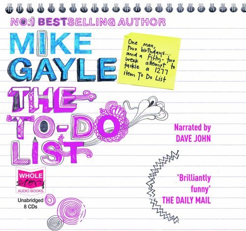 The To-do List (unabridged audio book)  by  Mike Gayle