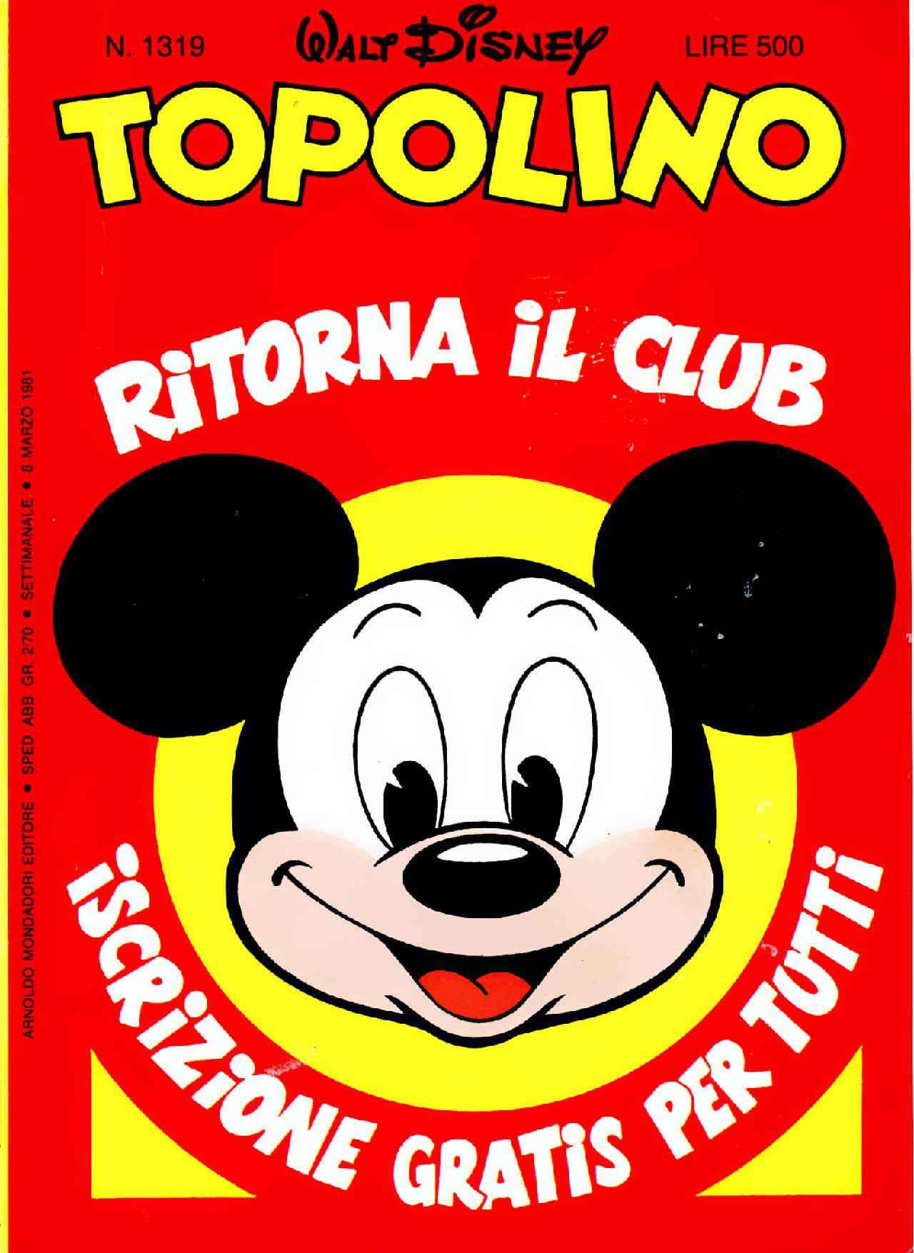 Topolino n. 1319  by  Walt Disney Company