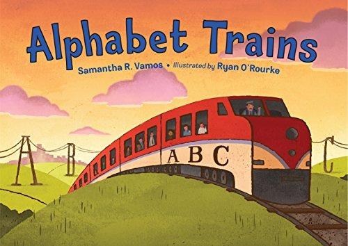 Alphabet Trains  by  Samantha R. Vamos