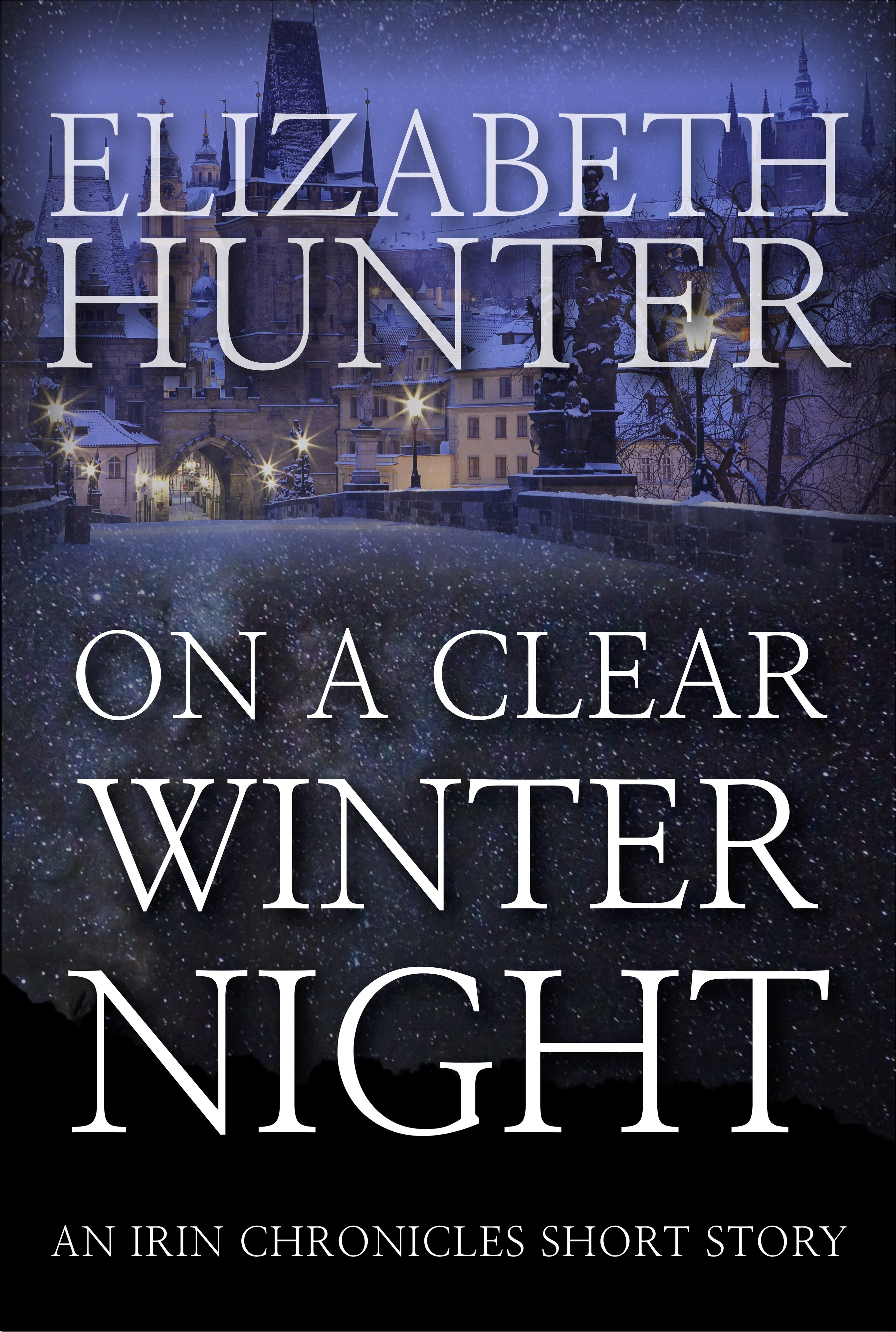 On a Clear Winter Night: An Irin Chronicles Short Story  by  Elizabeth Hunter