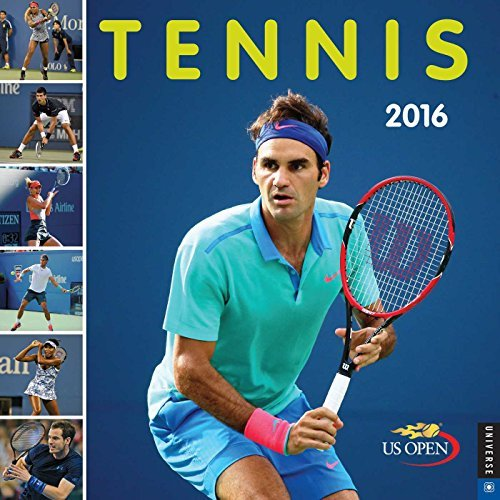 Tennis 2016 Wall Calendar: The Official US Open Calendar  by  United States Tennis Association