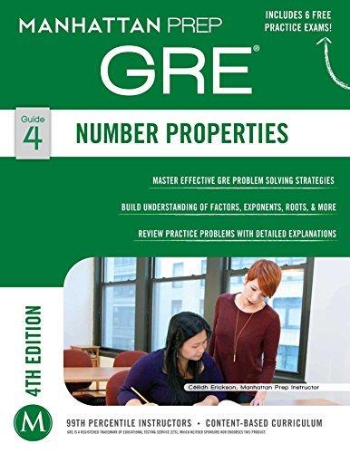 GRE Number Properties Manhattan Prep