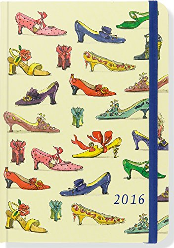 2016 Shoes Weekly Planner (16-Month Engagement Calendar, Diary) Peter Pauper Press