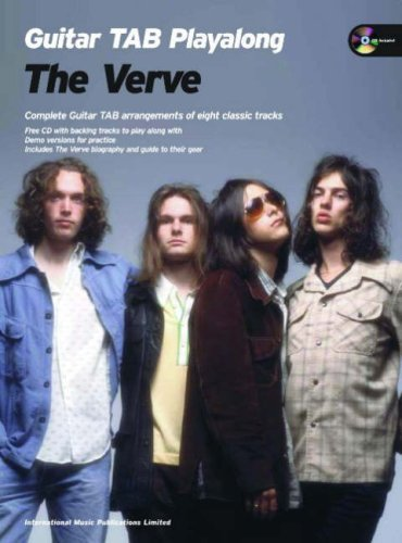 The Verve Guitar Playalong (Guitar Tab With Free Audio CD) The Verve