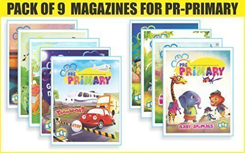Young Angels Pre-Primary Magazine (Pack of 9 Magazines) (Young Angels Magazines)  by  Young Angels International