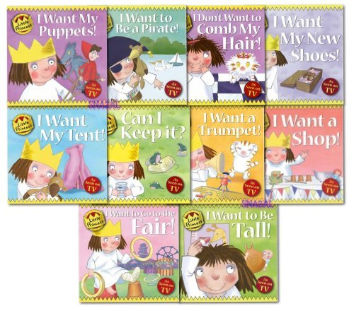 Little Princess Collection Tony Ross 10 Books Set  by  Tony Ross
