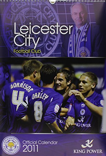 Leicester City Football Club 2011 Wall Calendar  by  Global Calendars