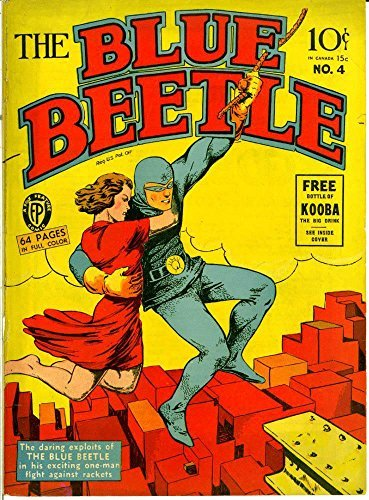 The Blue Beetle - Issue 004 (Golden Age Rare Vintage Comics Collection  by  Golden Age Vintage Comics Scans Archive