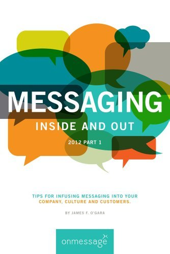 MESSAGING Inside and Out 2012 Part 1: Tips for infusing messaging into your Company, Culture and Customers. James F. OGara