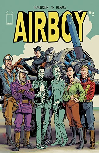 Airboy #3 (of 4) James Robinson