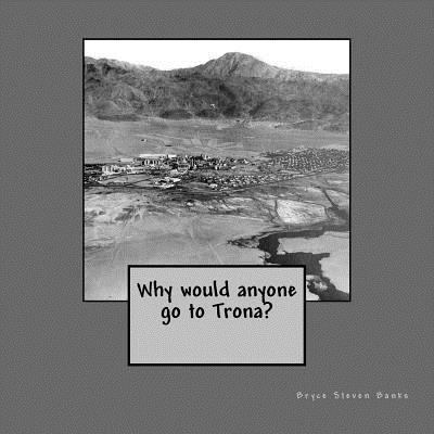 Why Would Anyone Go to Trona? Bryce Steven Banks