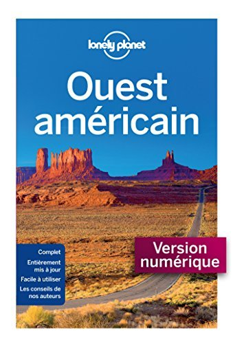 Ouest Américain 7ed  by  Lonely Planet