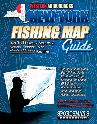 Western Adirondacks New York Fishing Map Guide Sportsmans Connection