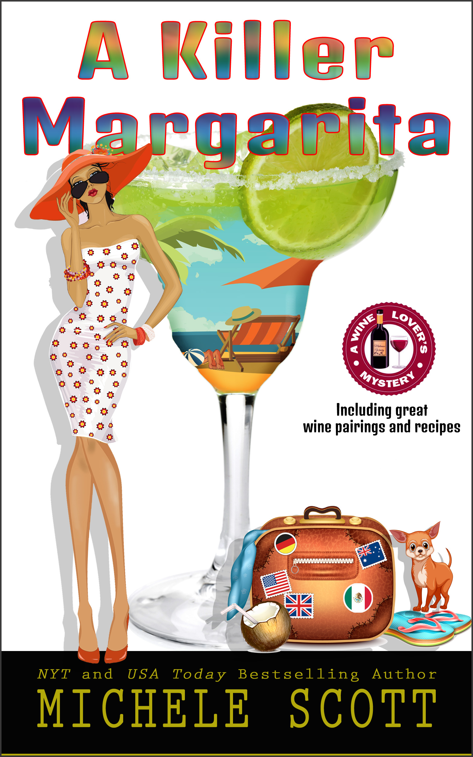 A Killer Margarita (A Wine Lovers Mystery, #7)  by  Michele Scott
