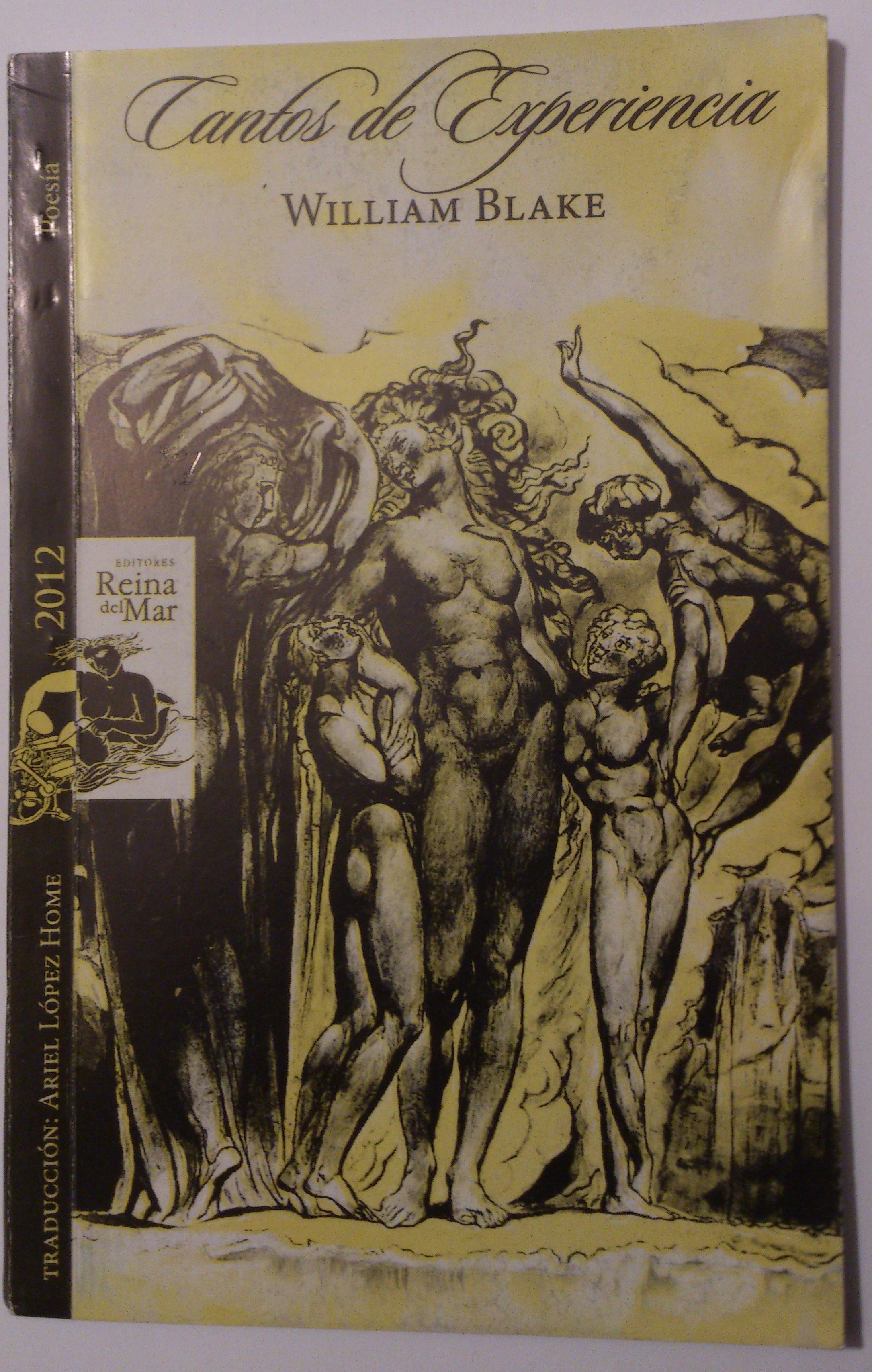 Cantos de experiencia  by  William Blake