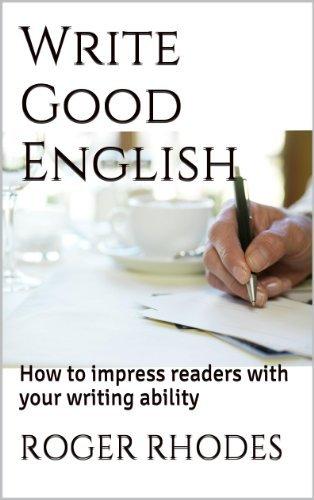 Write Good English Roger Rhodes