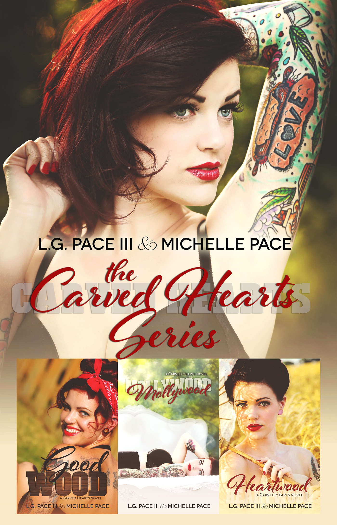 Carved Hearts Series Bundle Books 1-3  by  L.G. Pace III