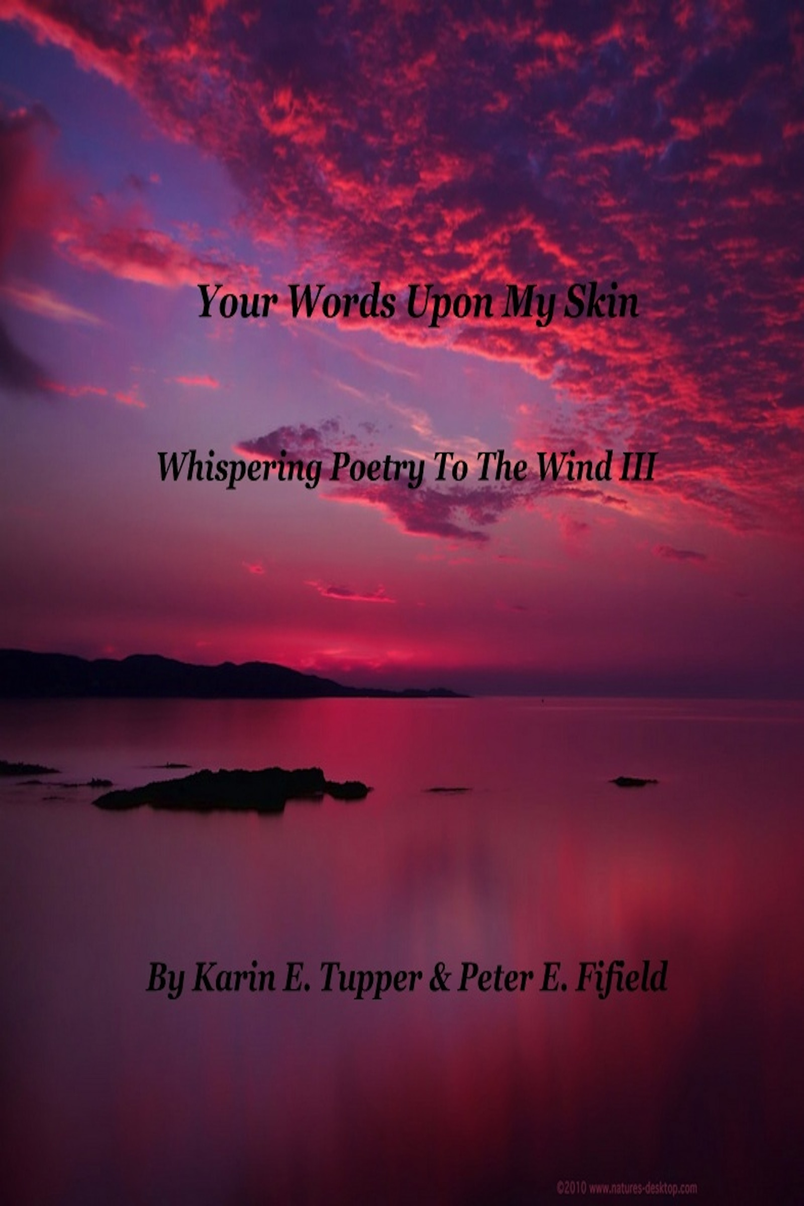 Your Words Upon My Skin  by  Karin  Bole Tupper