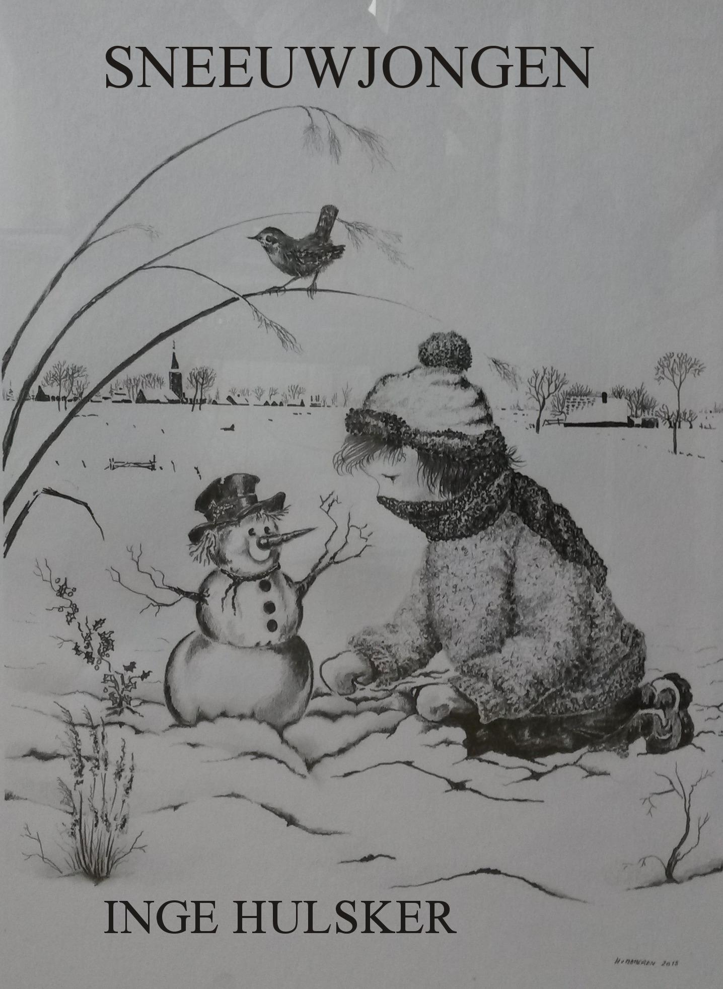 Sneeuwjongen  by  Inge Hulsker