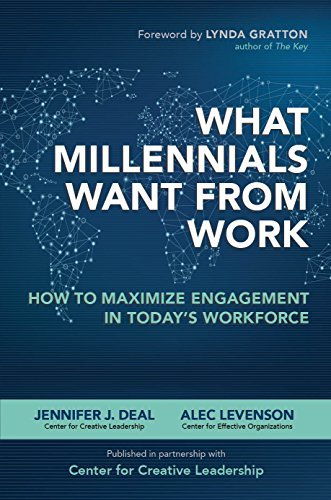What Millennials Want from Work: How to Maximize Engagement in Todays Workforce: How to Maximize Engagement in Todays Workforce  by  Jennifer J. Deal