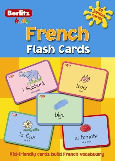 French Flash Cards Berlitz Publishing Company