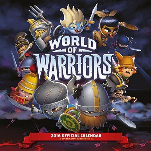 Official World Of Warriors 2016 Square Calendar Danilo