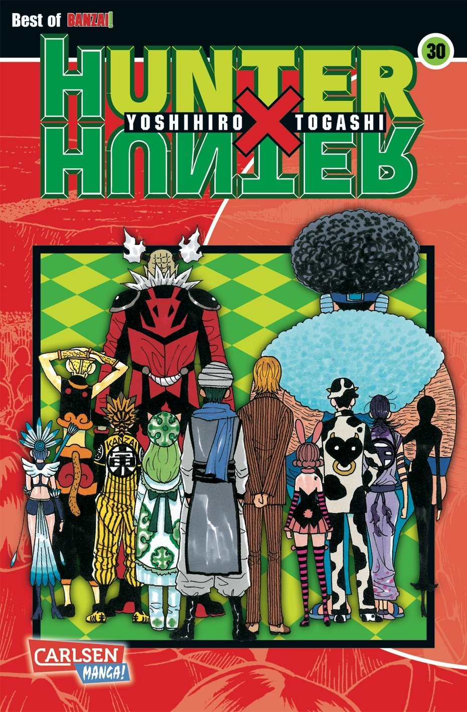 Hunter X Hunter 30 (Hunter X Hunter #30)  by  Yoshihiro Togashi