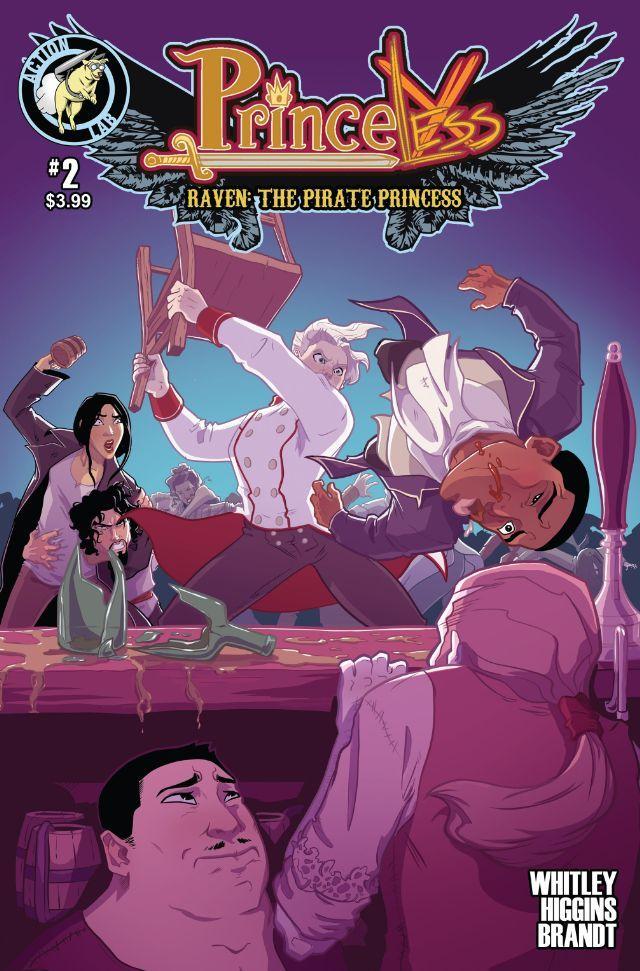 Princeless - Raven: The Pirate Princess #2 (Princeless- Raven: The Pirate Princess, #2)  by  Jeremy Whitley