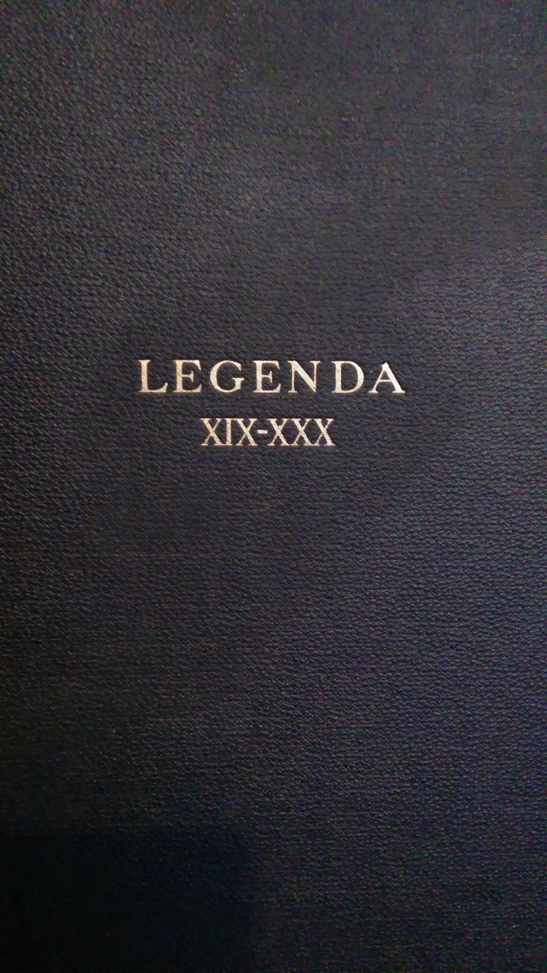 Legenda XIX-XXX Albert Pike