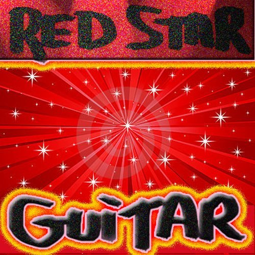 Red Star Guitar  by  Reuben Leivers