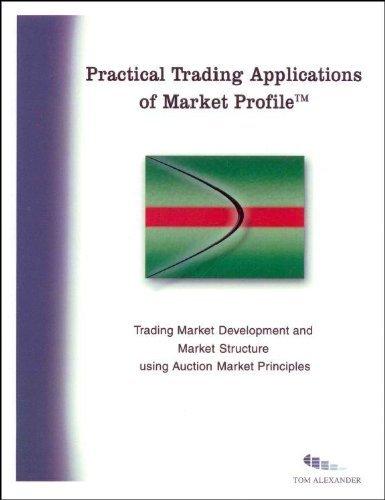 Practical Trading Applications of Market Profile Tom Alexander