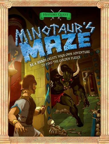 History Quest: Minotaurs Maze  by  Timothy Knapman