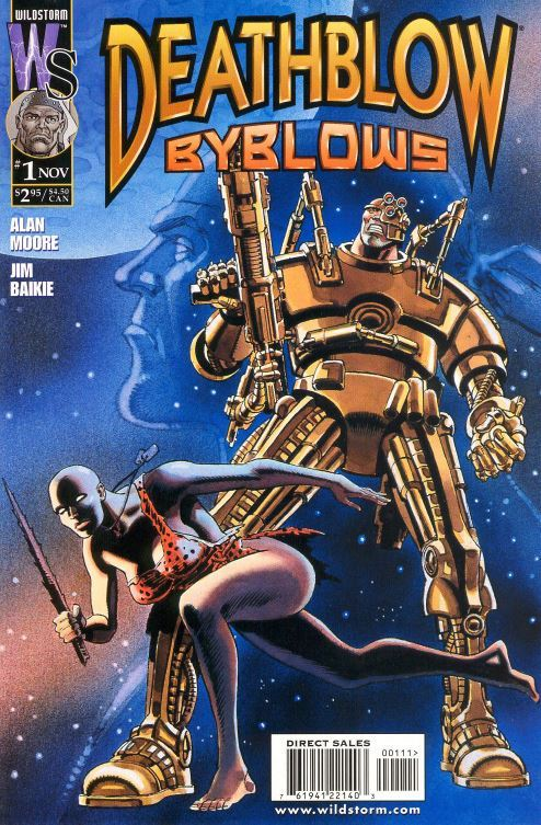 Deathblow: Byblows  by  Alan Moore