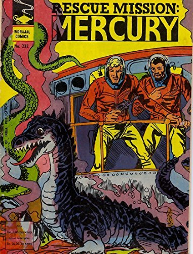 Indrajal Comics-232: Flash Gordon:Rescue Mission-Mercury (1975)  by  Alex Raymond