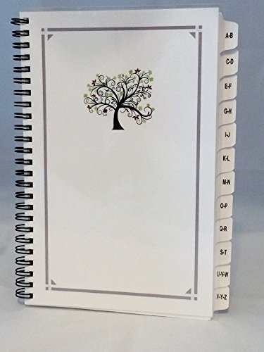 Large Print Password Book, Website Organizer, Internet Address Book A-Z Tabs Personalized Gifts  by  JDSeals