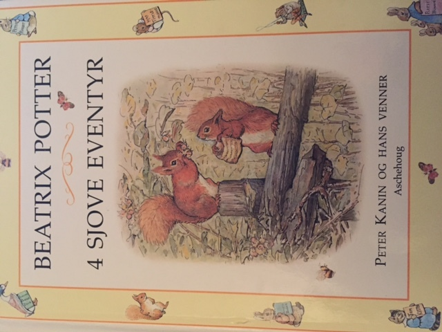 4 sjove eventyer Beatrix Potter