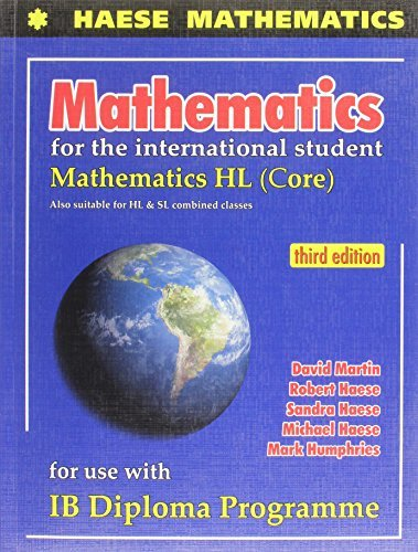 MATHEMATICS F/INTL.STUDENT:HL-W/CD HAESE ET AL